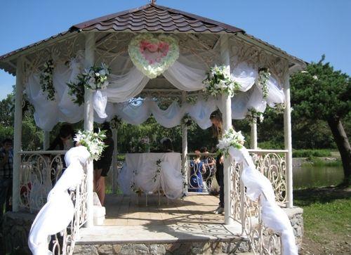 Свадьба в беседке