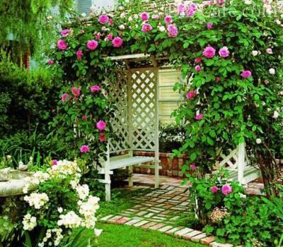 Декорирование при помощи растений