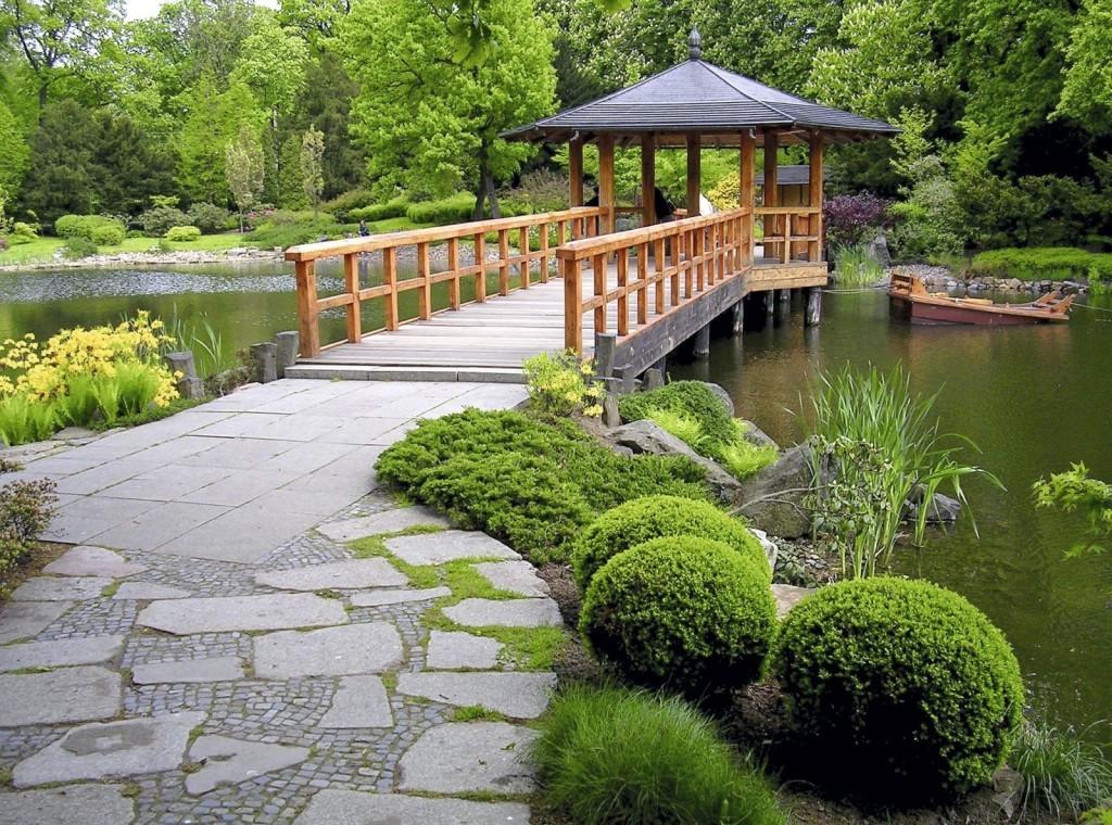 Ландшафтный дизайн: пруды, беседки