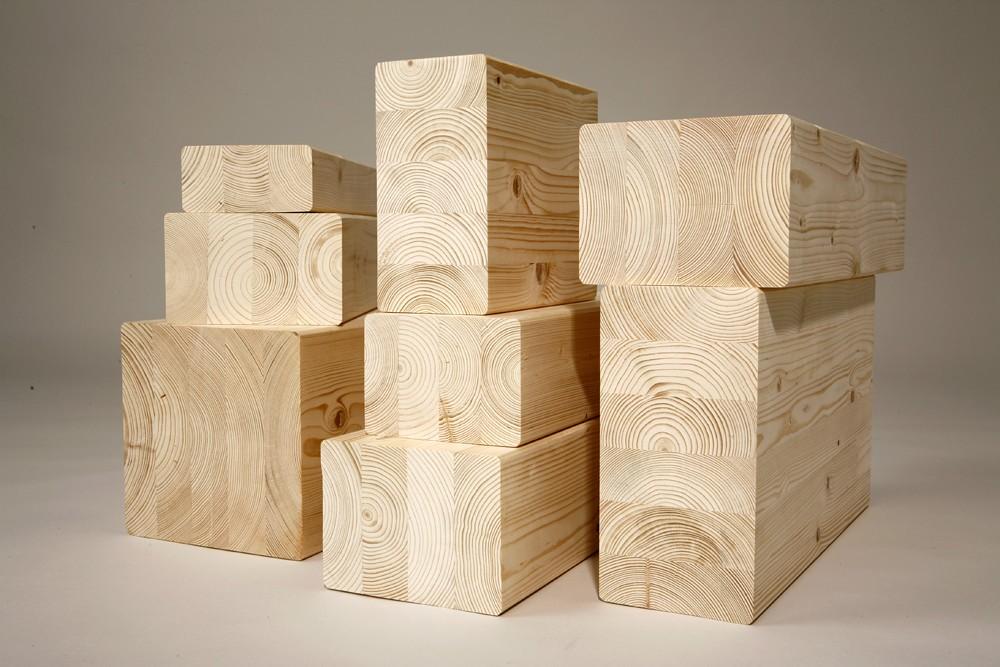 Строительная древесина: клееный брус