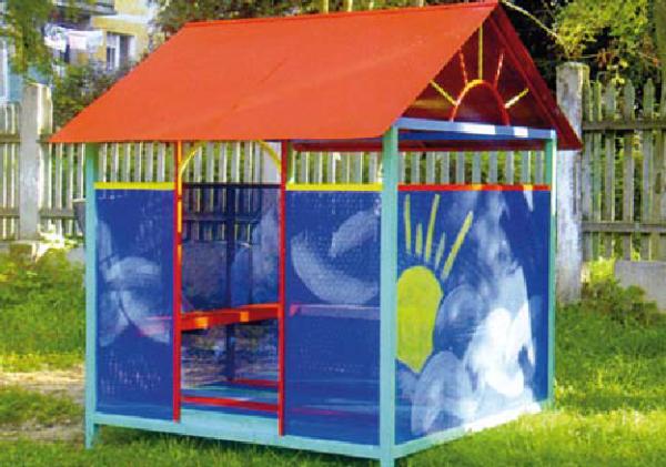 Детская игровая беседка для сада