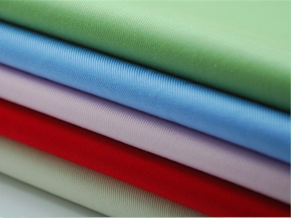 Хлопчатобумажная саржа со специальным плетением волокон применяется при производстве прочных габардин
