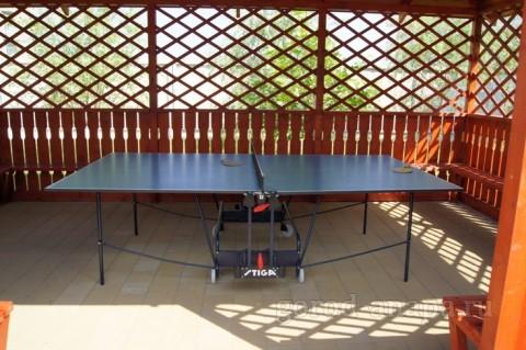 Беседка с теннисным столом