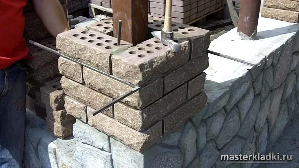 Беседки из кирпича и камня