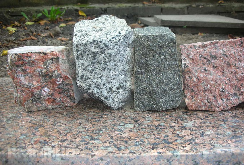 Каменная брусчатка для кладки стен