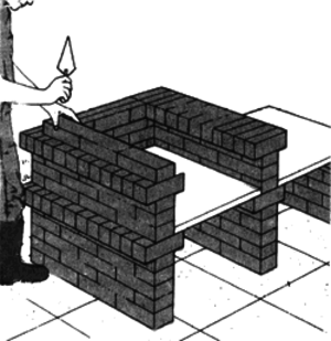 Количество кирпича для стен можно посчитать, если знать, какие будут площади стен