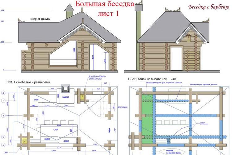 На чертеже основания нужно сразу наметить, где будут стоять колонны на линии стен