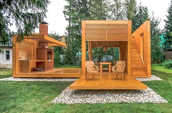 Основным критерием при выборе модели дачной постройки является ее функциональность и эксклюзивный внешний вид