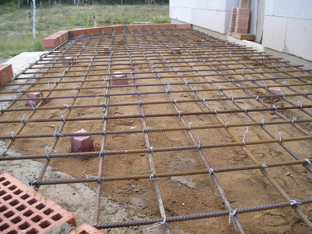 Подготовка основания под бетонную площадку