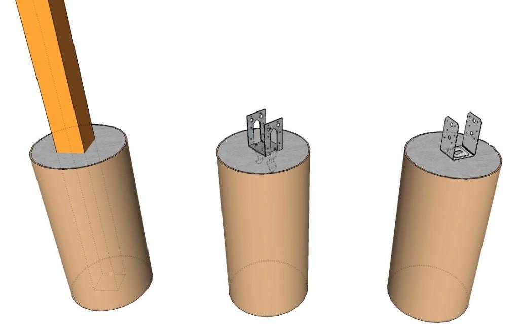 Специалисты рекомендуют использовать фундамент столбчатого типа