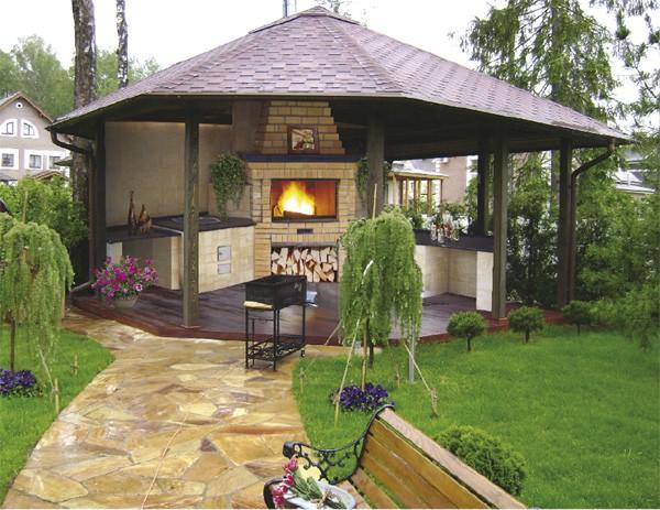 Такие надежные, красивые и недорогие конструкции возводятся из нескольких основных материалов