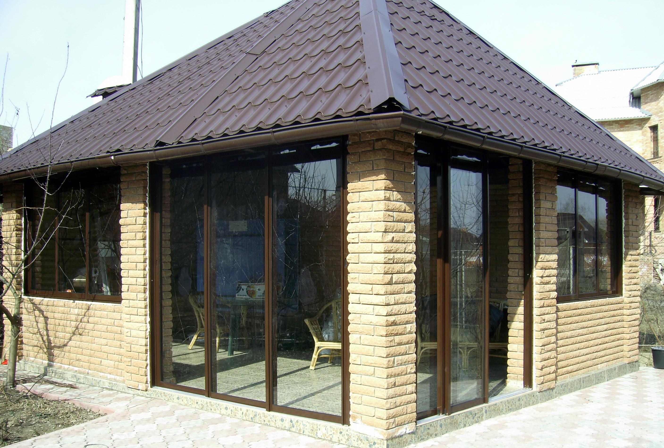 Раздвижные алюминиевые окна для балконов веранд беседок..