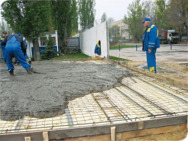 Делаем плитный фундамент