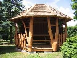 Использование в строительстве стволов дерева