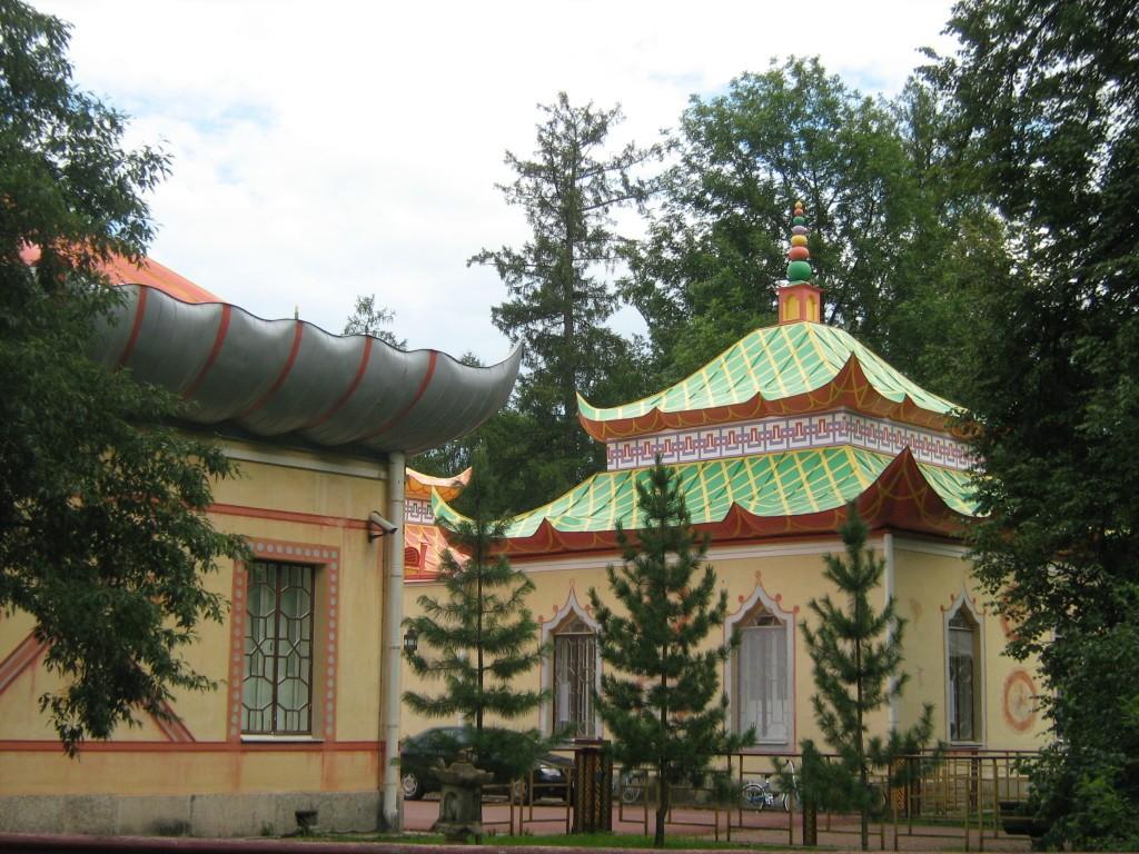 Китайская беседка в Царском Селе