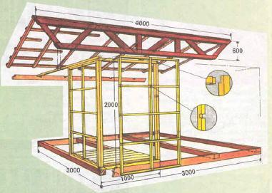 После того, как вы определились с местом и материалом, необходимо подумать о конструкции.
