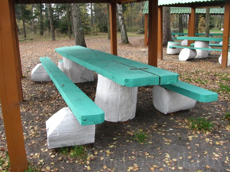 Стол и лавки для беседки – делаем сами