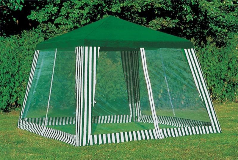 Беседка-палатка с москитной сеткой