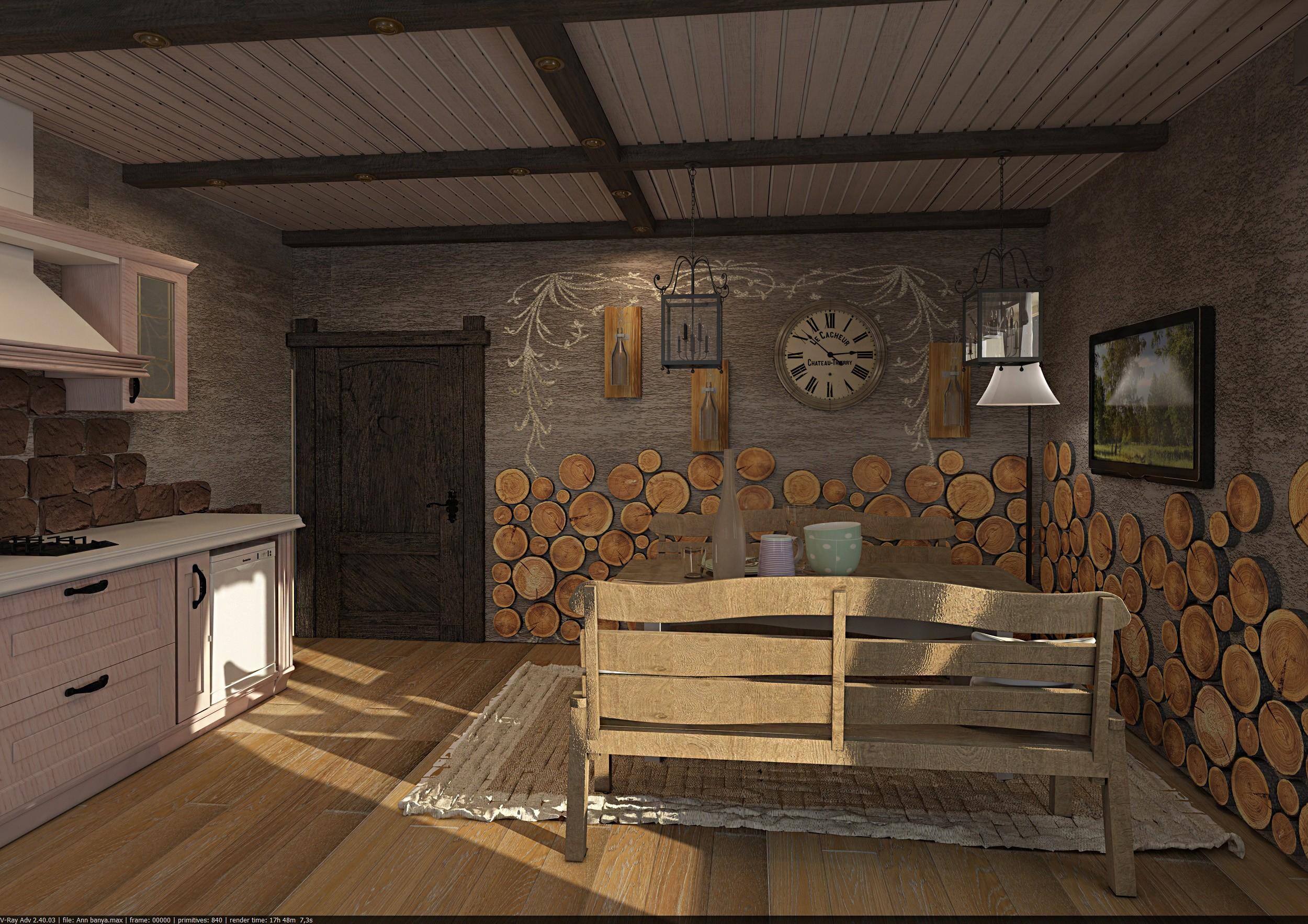 Баня комната отдыха фото