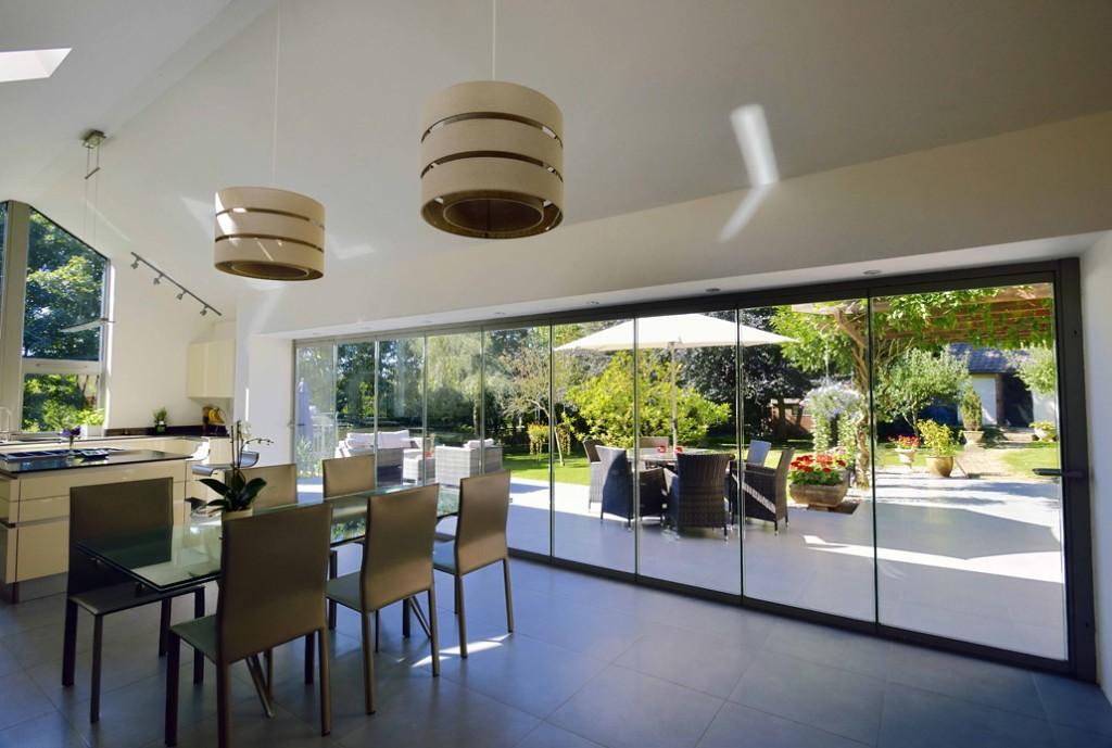 Дизайн остеклённой террасы