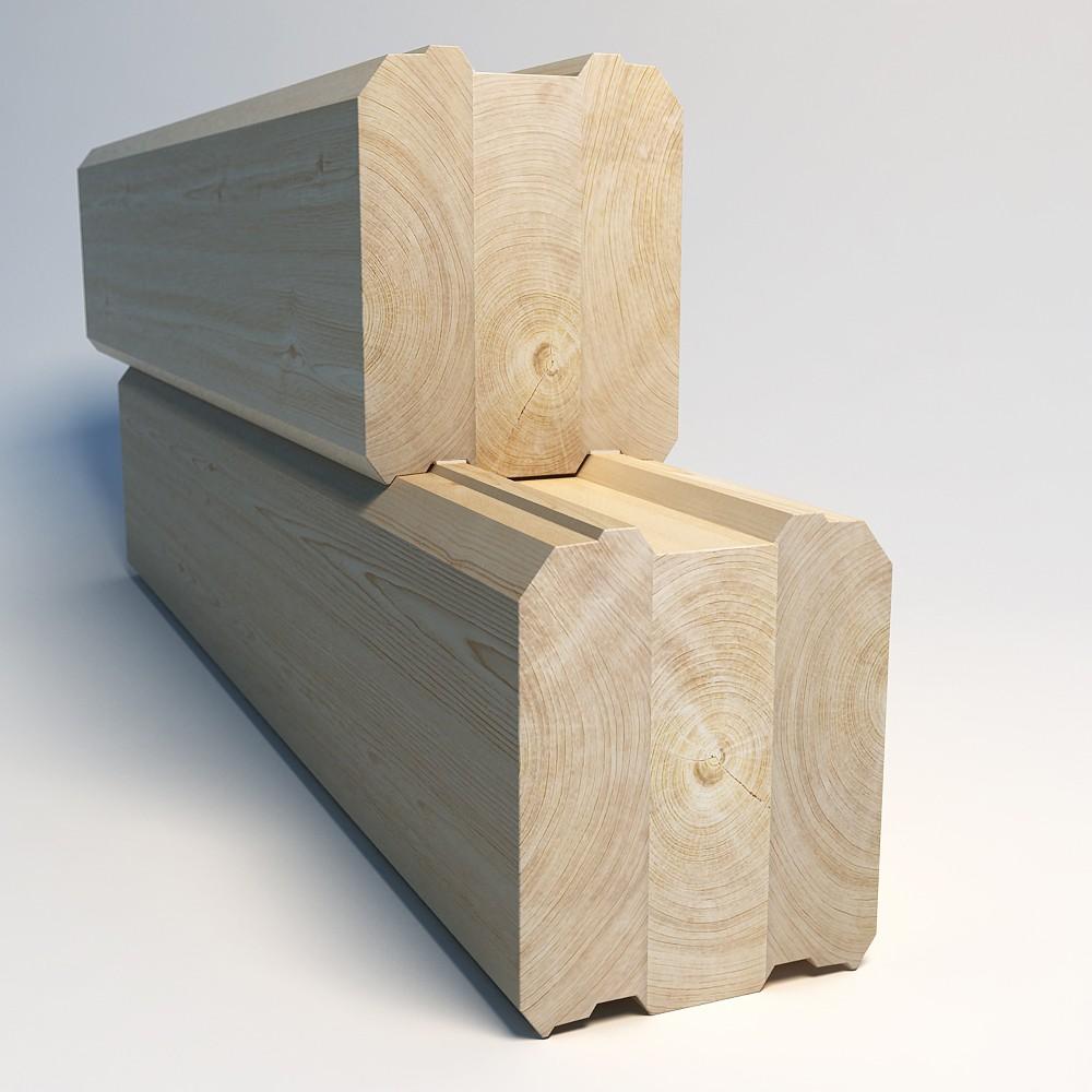 Клееный брус – лучший материал для несущих элементов каркаса