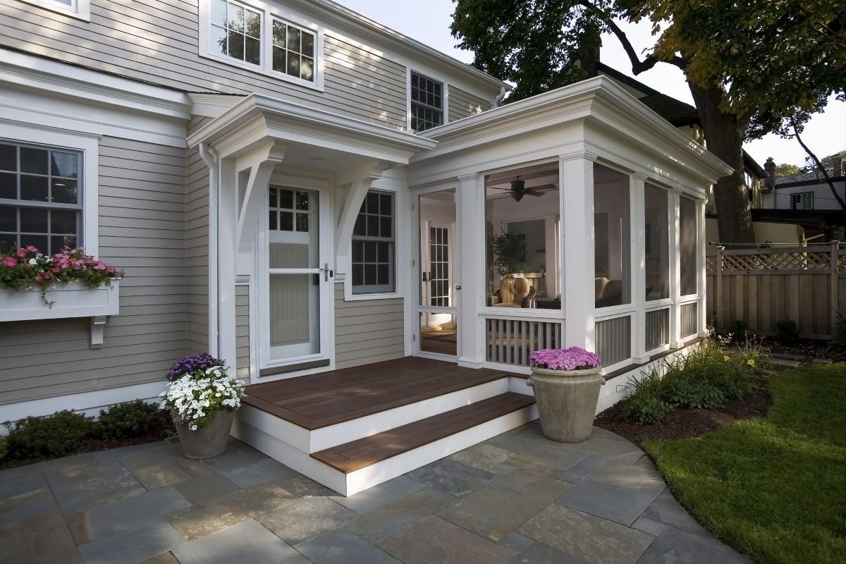Screen Porch Plans  Houseplanscom