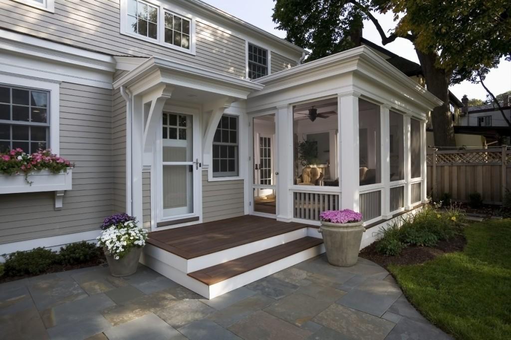 Строим из дерева: веранды и террасы