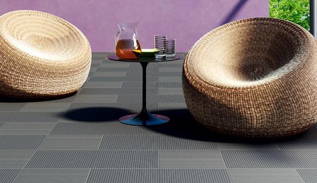 Террасная бетонная плитка.
