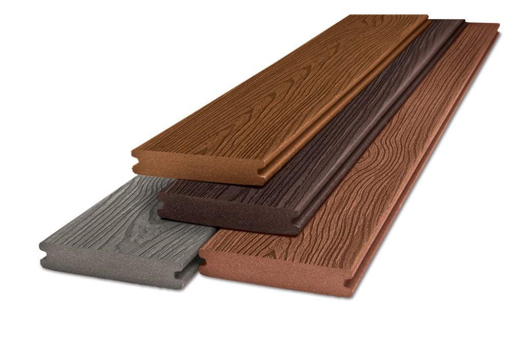 Полнотелая доска из древесного композита
