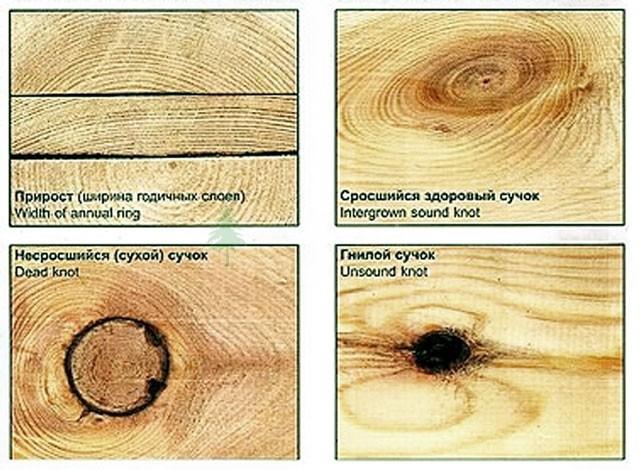 Дефекты древесины, которые приводят к скорому разрушению материала.