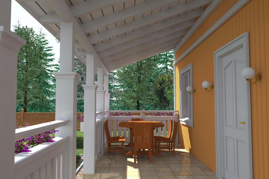 Домашние террасы: устройство и дизайн