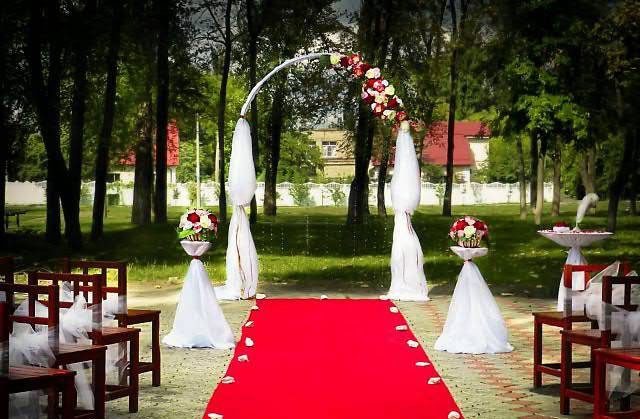 Навес на свадьбу своими руками