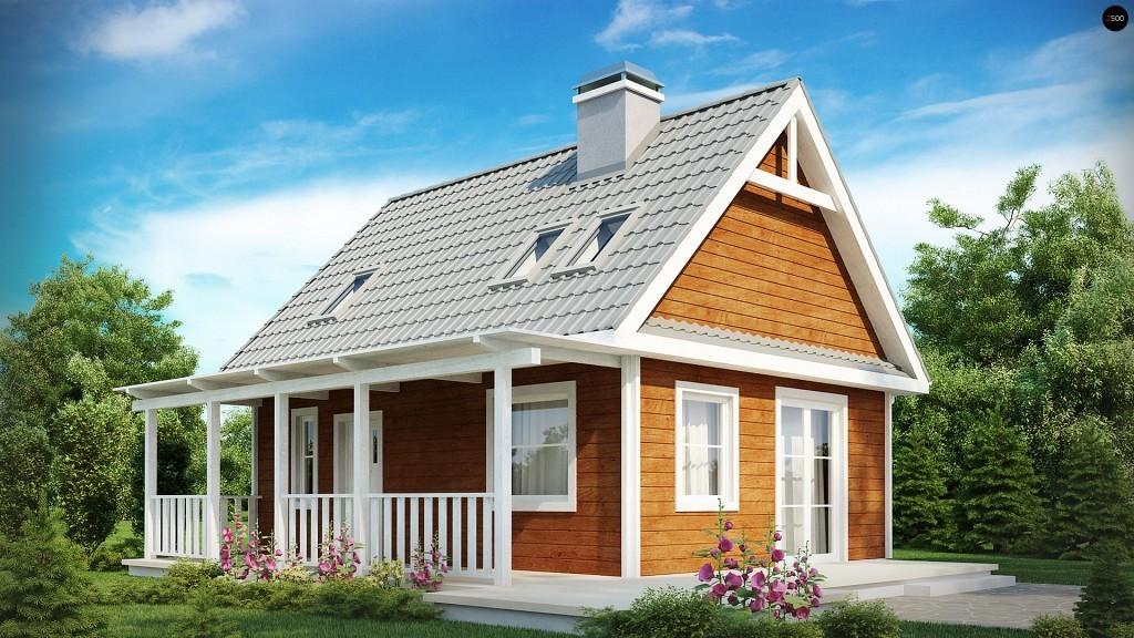 Проекты домов с террасой и верандой