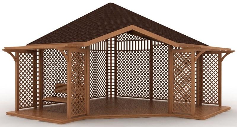 Для того чтобы ваша конструкция была неповторимой, используйте для украшения железные прутья, которые можно изогнуть в причудливые узоры.