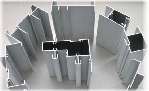 Элементы алюминиевого профиля для фасада беседок.