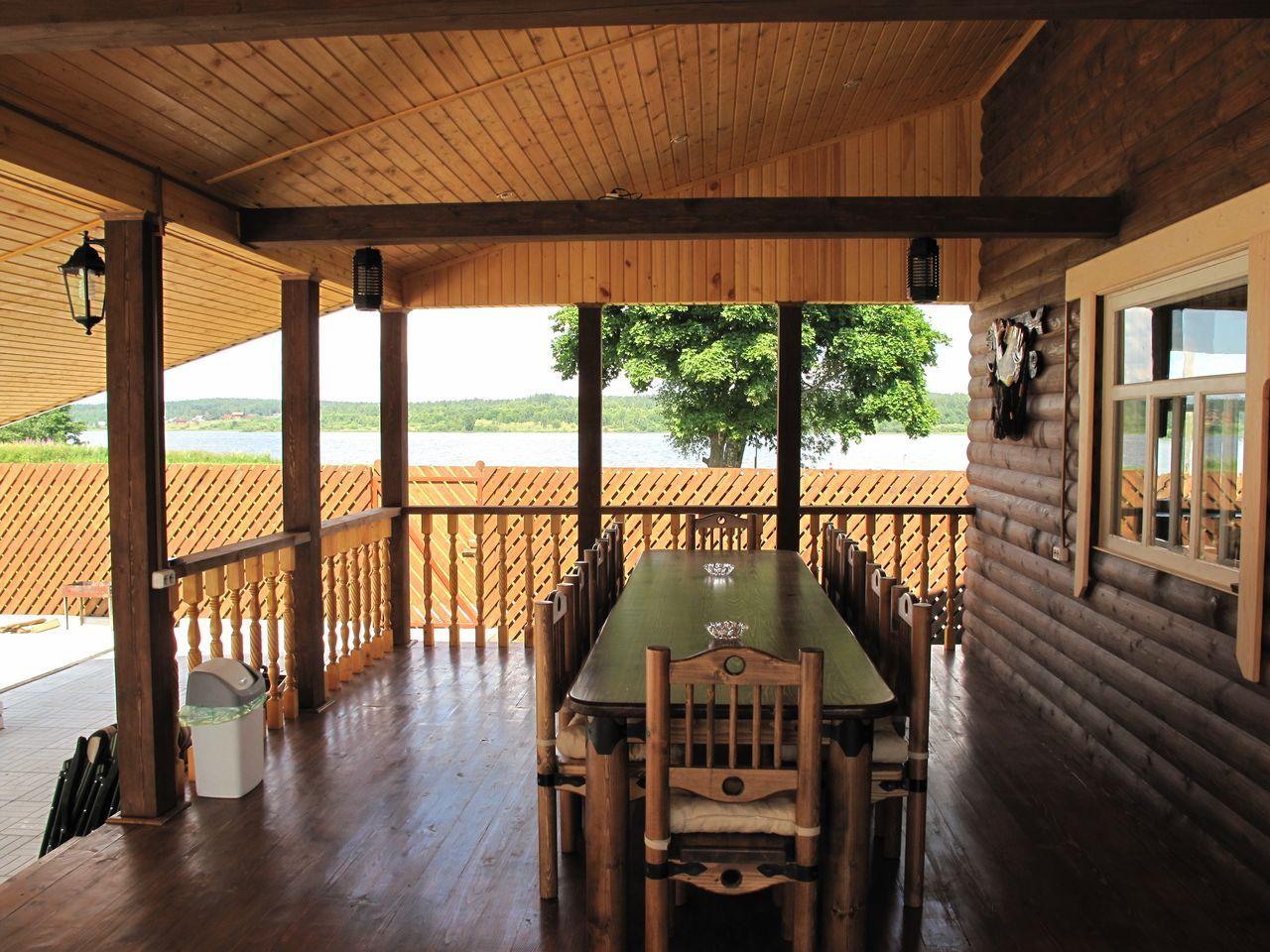 Деревянная веранда к деревянному дому своими руками фото 646