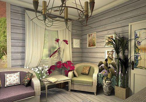 Прованс – это мягкие цвета и натуральные материалы.