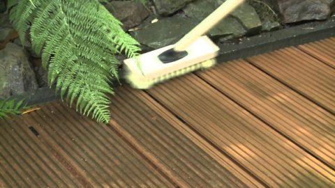 Рельефную доску удобно мыть щеткой