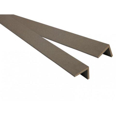 Уголок ДПК 45*45 – предназначен для облагораживания краев террасы