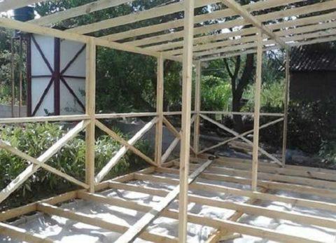 Самая простая деревянная конструкция