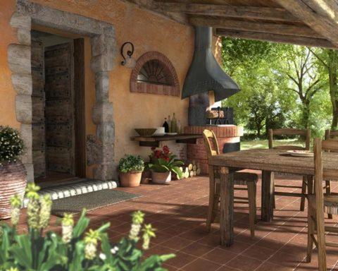 Эстетика летней кухни