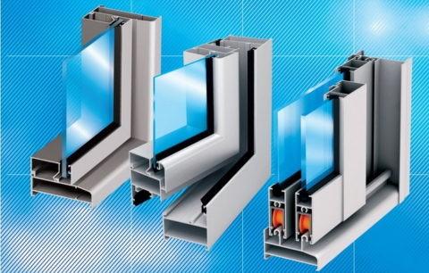 Способы открывания для алюминиевого профиля