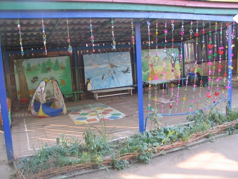 Как обустроить веранду в детском саду своими руками фото