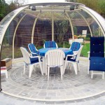 Беседки садовые из поликарбоната — это правильный выбор