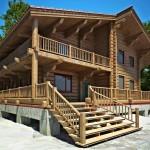 Терраса из бруса: варианты постройки