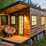 Гостевой домик с мини-террасой