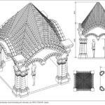 Красивый проект с кирпичным шатровым сводом