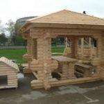 Проект конструкции для семьи из бревна