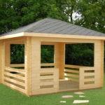 Простой прямоугольный проект, предназначенный для семейного отдыха