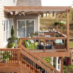 Терраса на балконе
